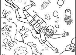 250x180 Scuba Diver Worksheet