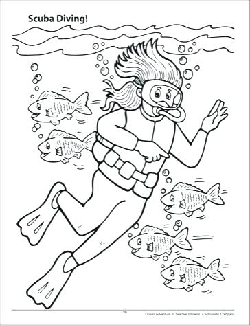 364x473 Summer Season Coloring Pages Part Free Coloring Images