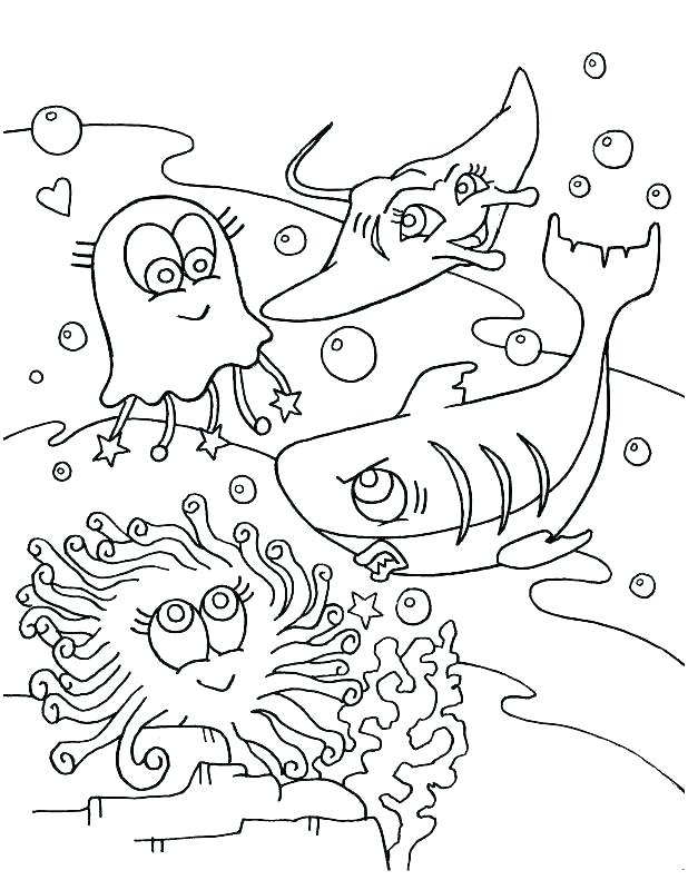 618x800 Marine Coloring Page Marine Coloring Page Coloring Pages Marine