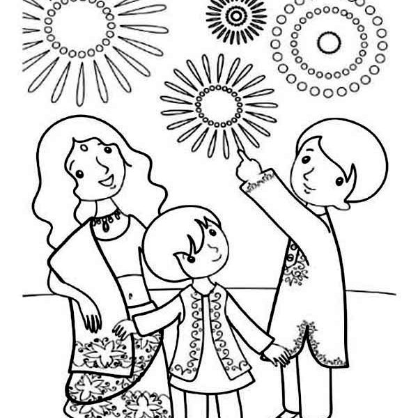 600x600 Diwali Coloring Pages Images Coloring Page Ideas