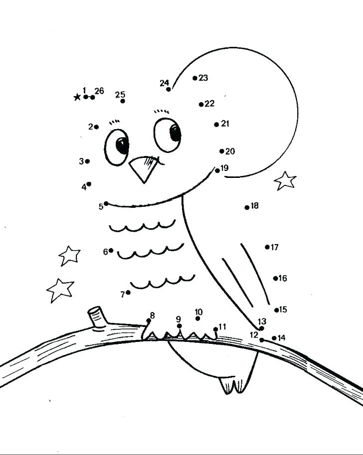 728x913 Number Coloring Page Dot Art Coloring Pages Turkey Do A Dot Art