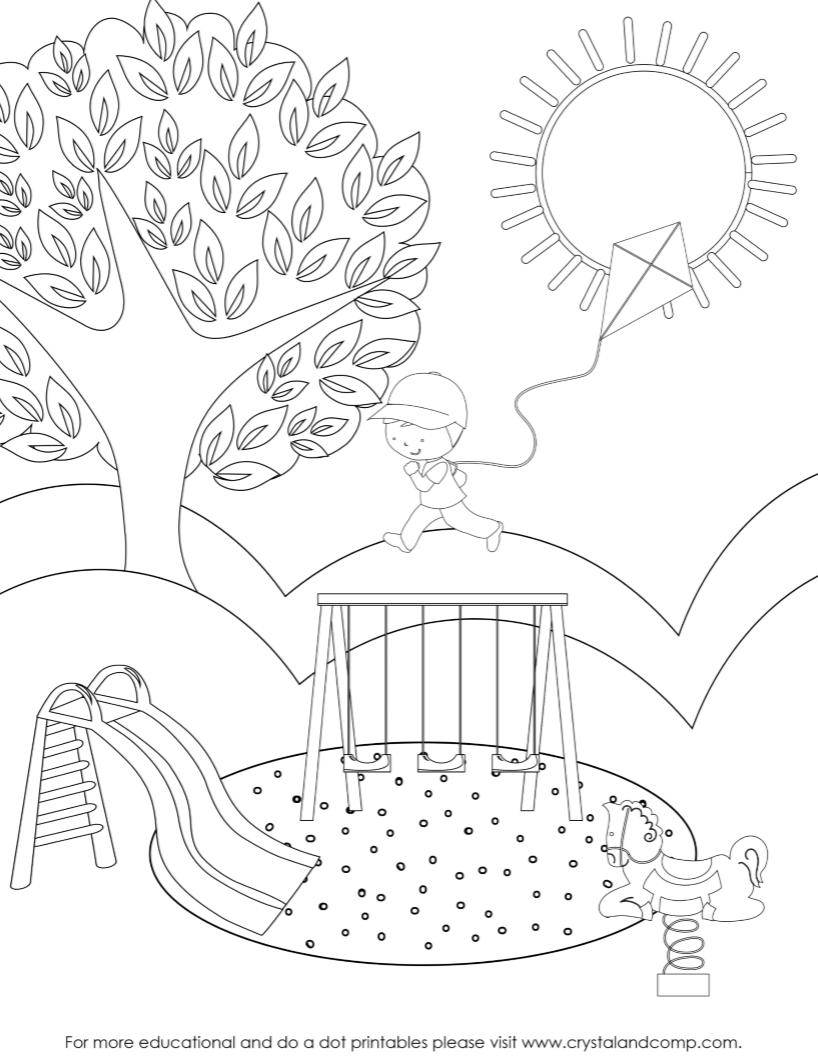 818x1062 Preschool Do A Dot Printables Spring