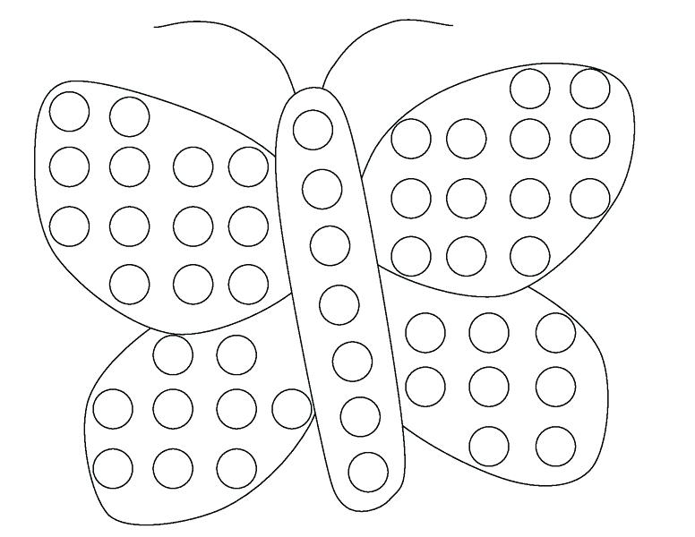 776x600 Dot Coloring Pages Dot Coloring Pages Butterfly Do A Dot Coloring