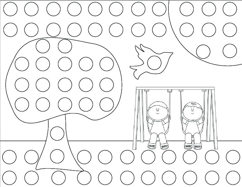 776x600 Dot Coloring Pages Dot Coloring Pages Plus Springctivities