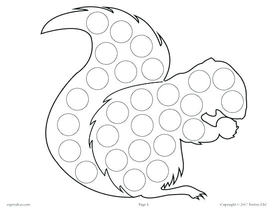 550x425 Dot Marker Coloring Pages Free Free Dot Marker Coloring Sheets