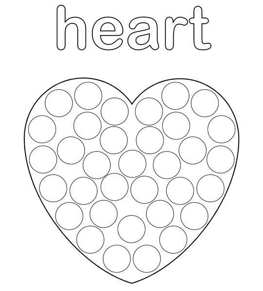 541x600 Dot Paint Printables Free Shapes Do A Dot Printables Design