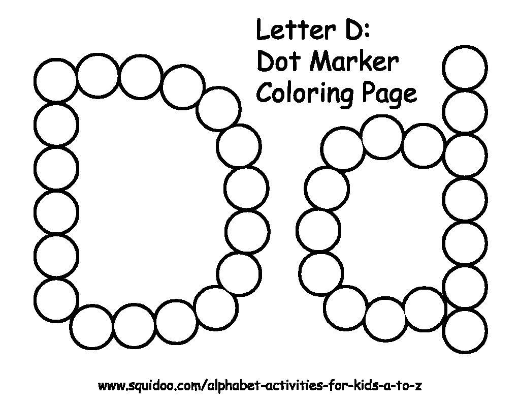 1024x791 Beautiful Do A Dot Coloring Pages
