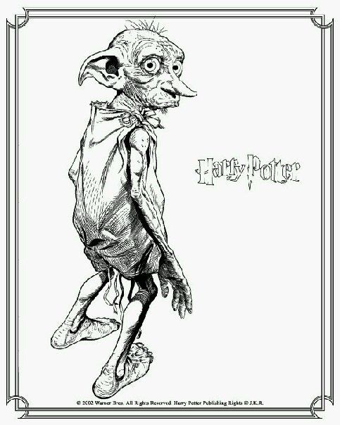 Dobby Coloring Page
