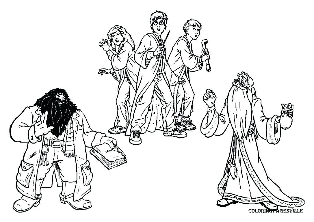 1024x724 Harry Potter Coloring Pages Harry Potter Coloring Pages Harry