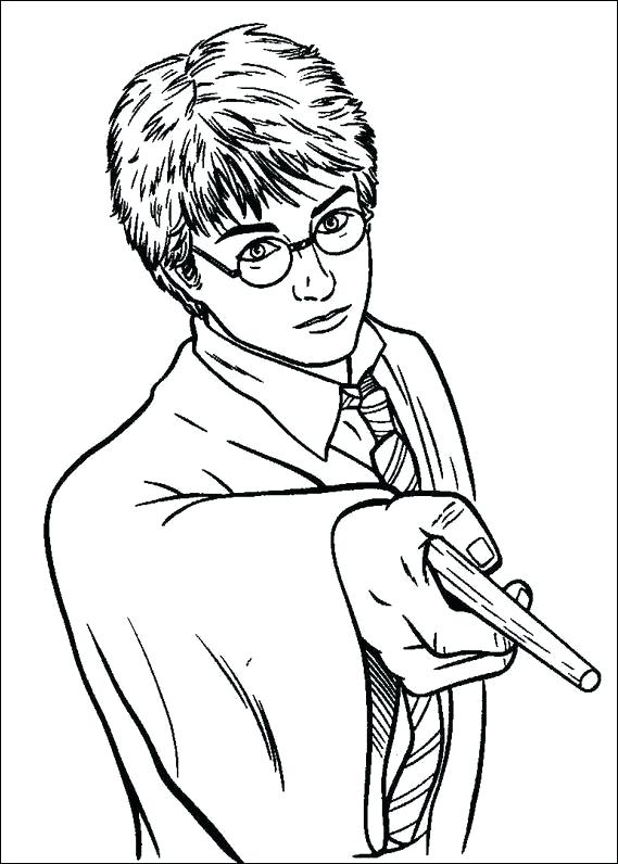 569x796 Harry Potter Coloring Pages Harry Potter Colouring Page Harry