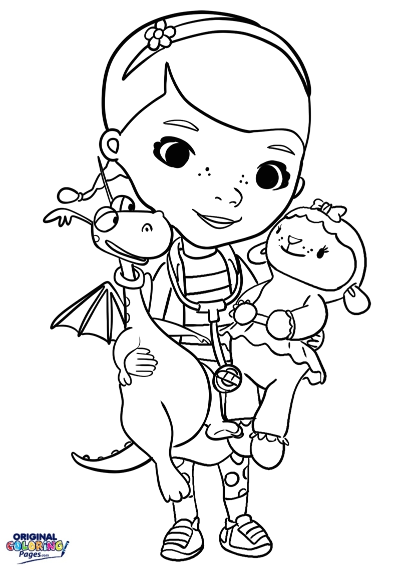 Doc Mcstuffins Coloring Pages At Getdrawings Free Download