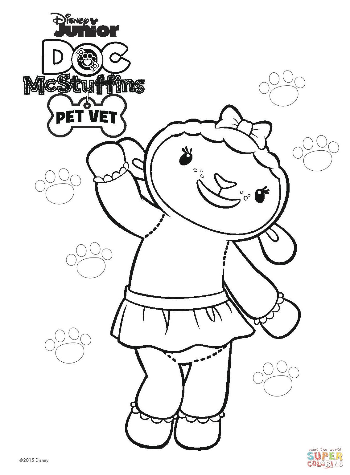 Doc Mcstuffins Coloring Pages at GetDrawings | Free download