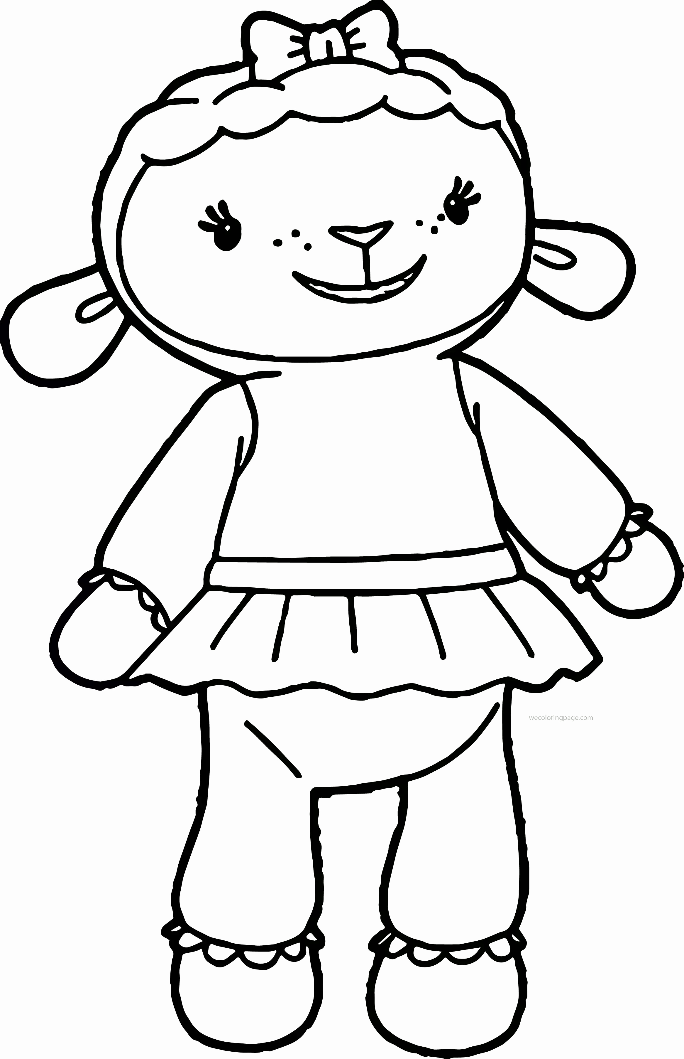 Doc Mcstuffins Lambie Coloring Pages at GetDrawings | Free ...