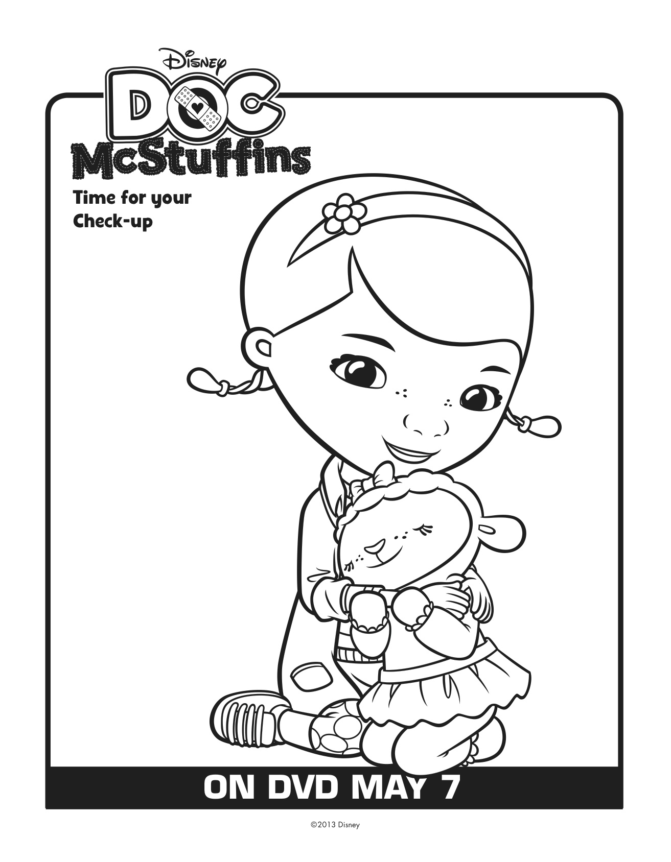 Doc Mcstuffins Lambie Coloring Pages at GetDrawings.com ...