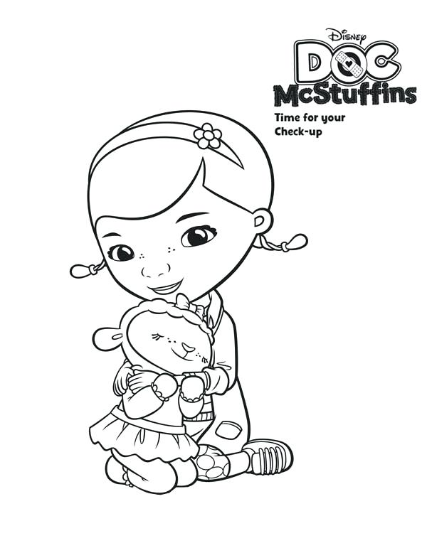 Doc Mcstuffins Printable Coloring Pages At Getdrawings Free Download