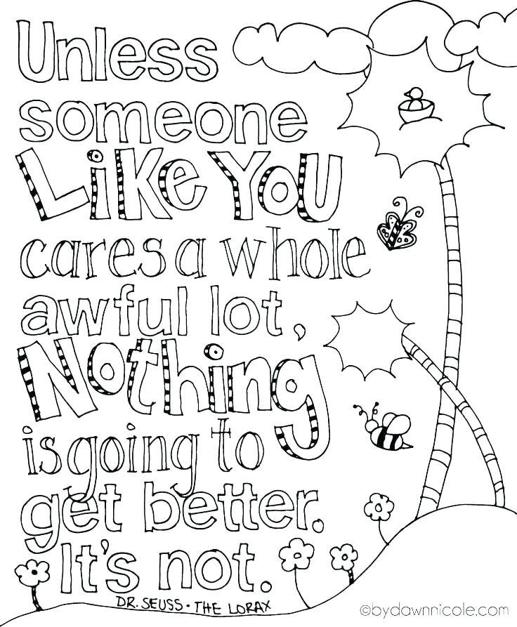 736x893 Dr Seuss Characters Coloring Pages Printable Free Printable