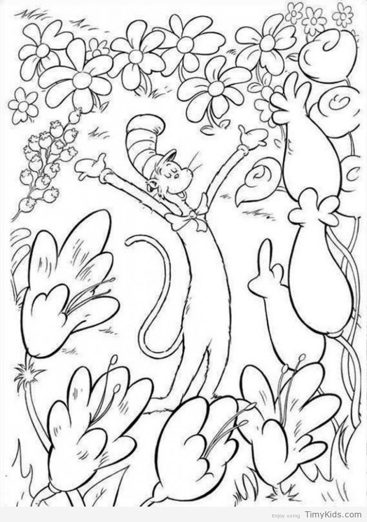 Doctor Seuss Coloring Pages at GetDrawings.com | Free for ...