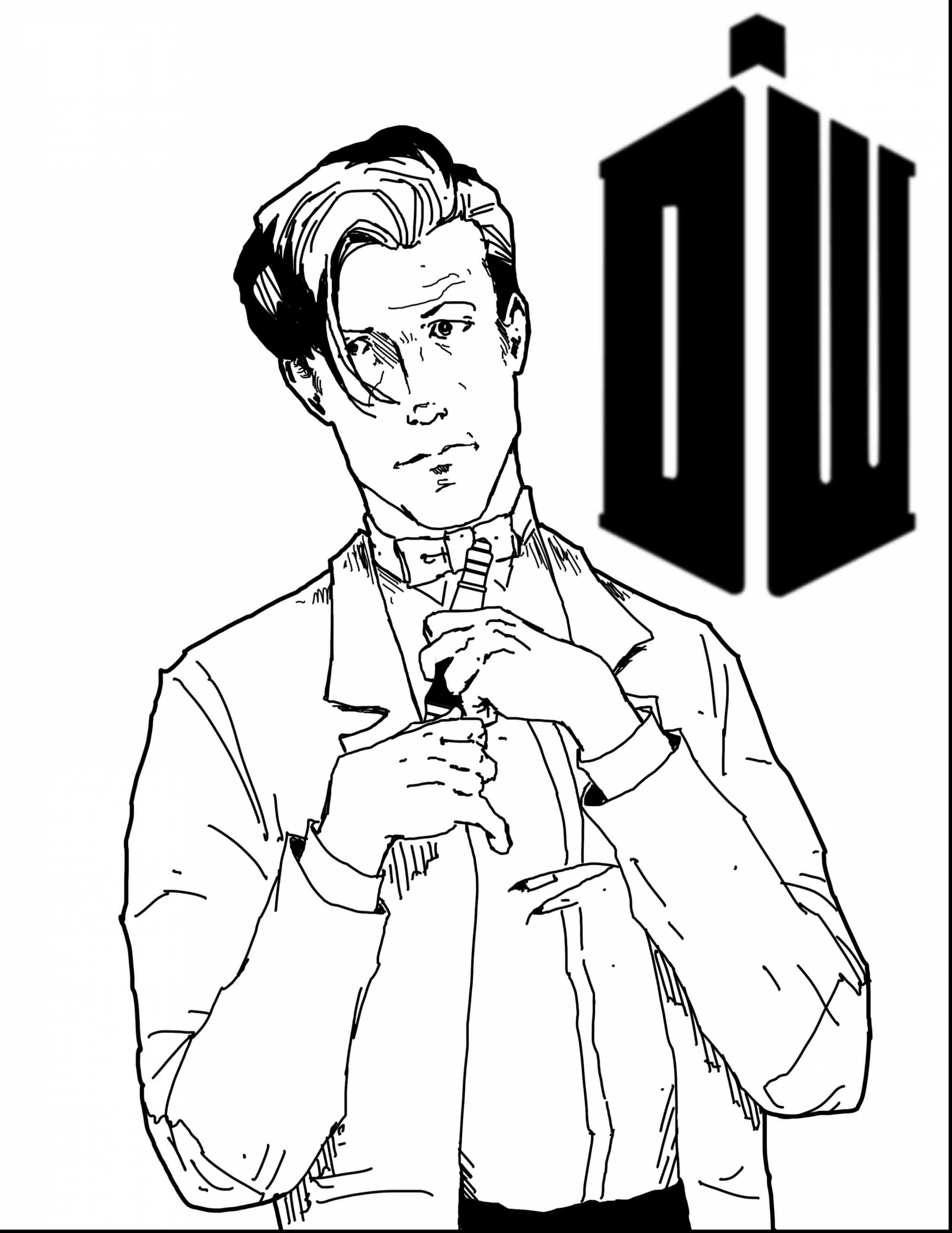 Doctor Who Tardis Coloring Pages at GetDrawings.com | Free for ...