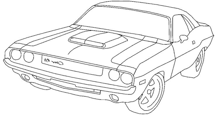 736x394 Dodge Ram Coloring Pages Truck Coloring Pages Dodge Challenger