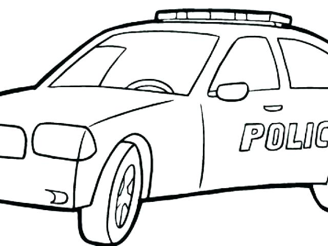 640x480 Police Car Coloring Page Police Cars Coloring Pages Dodge