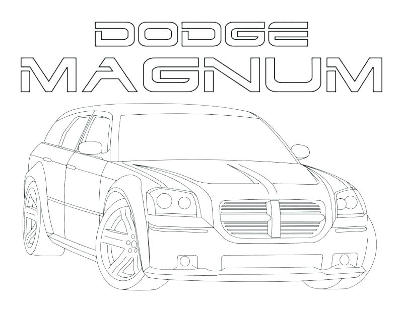 800x618 Dodge Coloring Pages