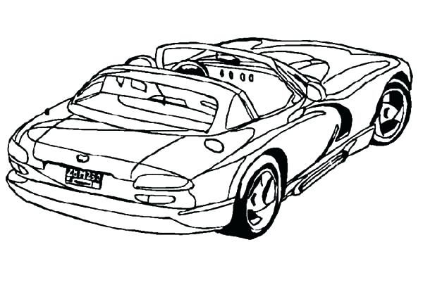 600x425 Dodge Challenger Coloring Pages Dodge Cars Dodge Viper Coupe Car