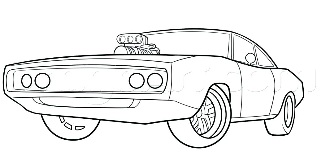 1024x506 Police Cars Coloring Pages Dodge Charger Coloring Pages Fast