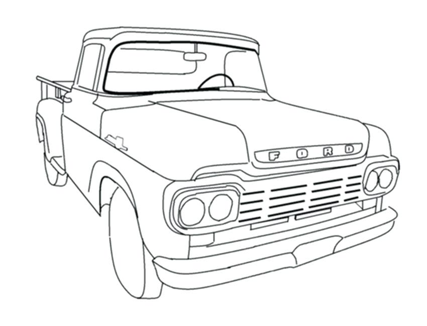 850x648 Dodge Ram Coloring Pages Dodge Coloring Page Dodge Car Coloring