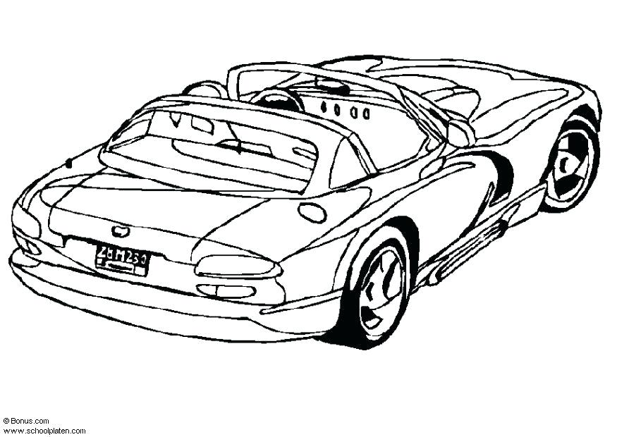 875x620 Dodge Viper Coloring Pages Download Large Image Dodge Viper