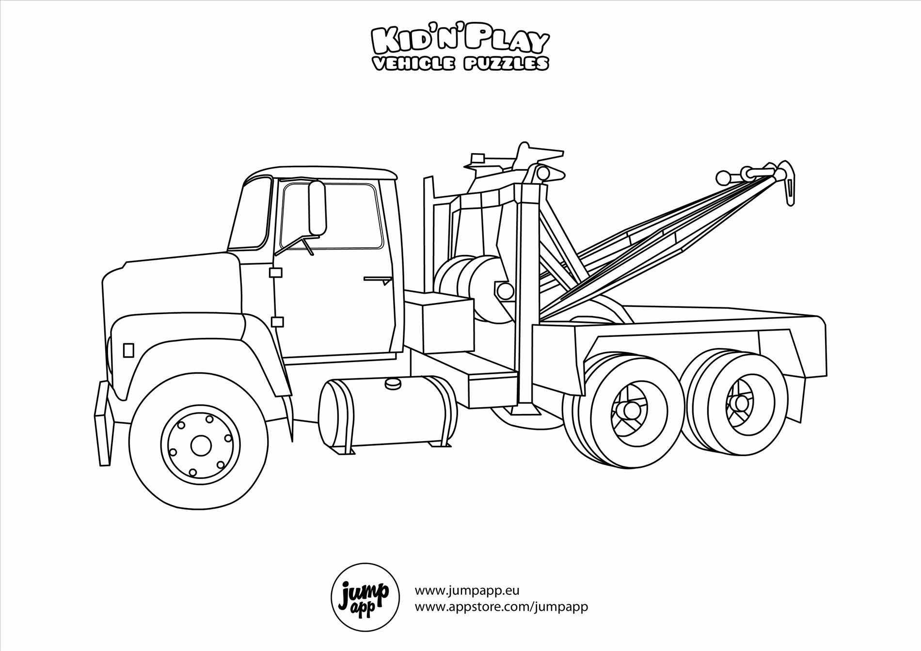 1900x1343 Truck Coloring Pages Free Printable Colouring For Kids To At Dodge