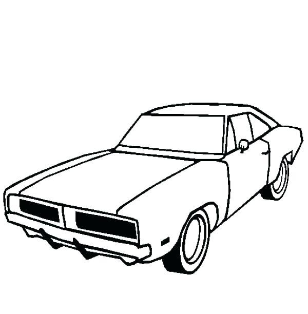 600x612 Dodge Coloring Pages Dodge Coloring Pages Dodge Challenger