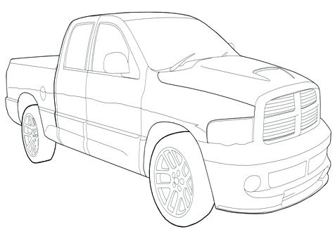476x333 Dodge Ram Coloring Pages Dodge Car Longhorn Truck Coloring Pages