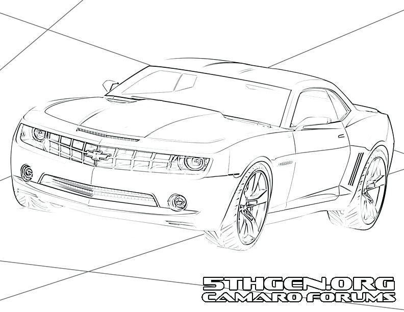 792x612 Chevy Coloring Pages Dodge Viper Para Chevrolet Corvette Coloring