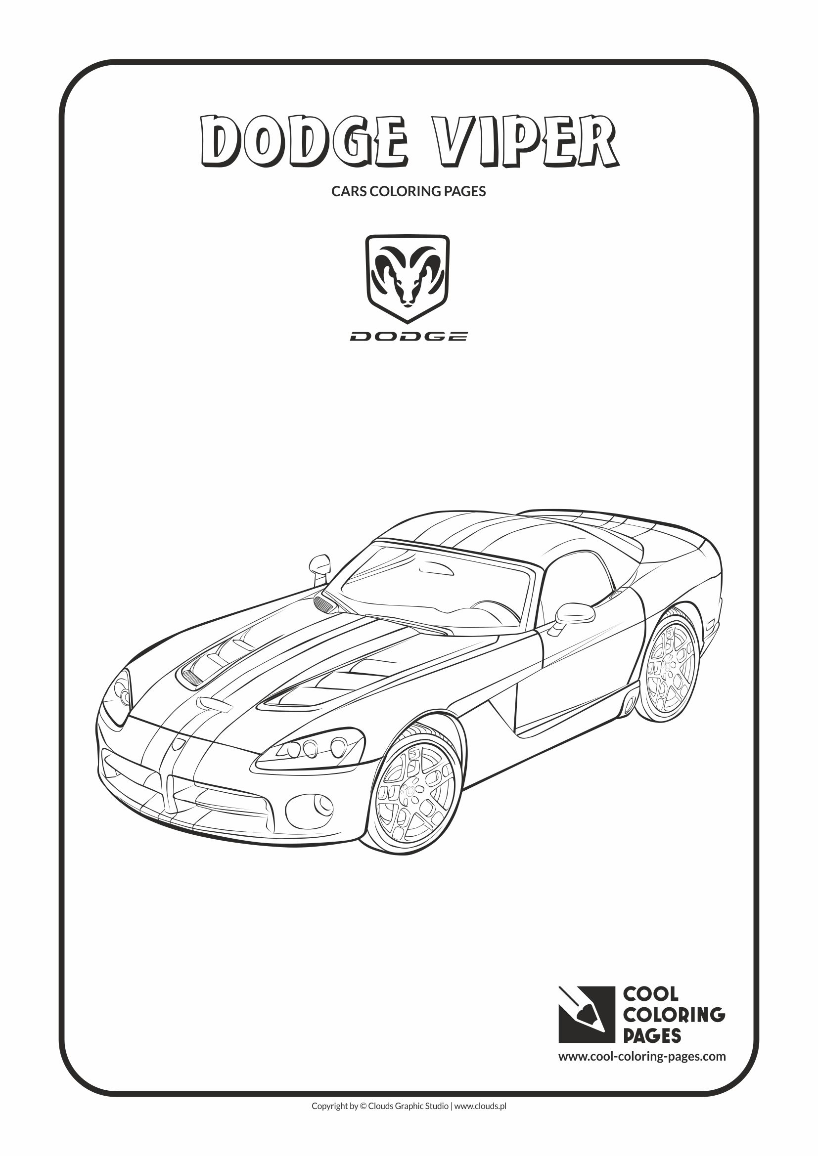 1654x2339 Cool Coloring Pages Dodge Viper Coloring Page