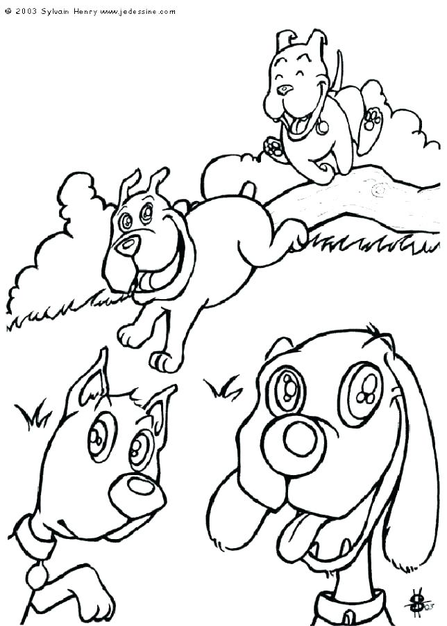 644x900 Coloring Pages Dogs Cats Dog Cat Coloring Pages Dog