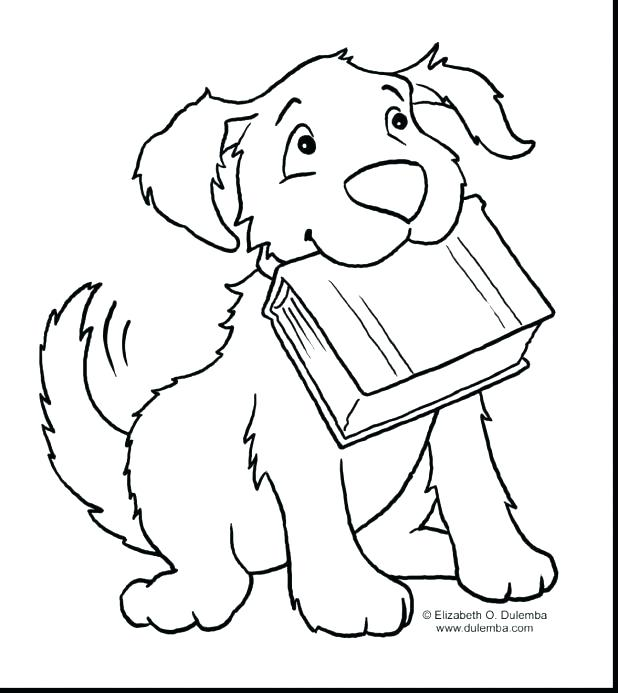 Dog Birthday Coloring Pages At Getdrawings Com Free For Personal
