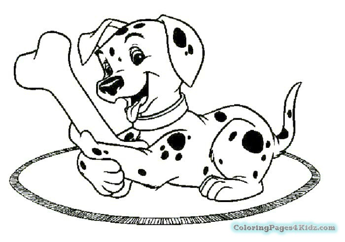 700x491 Dog Bone Print Coloring Page Coloring Pages For Kids