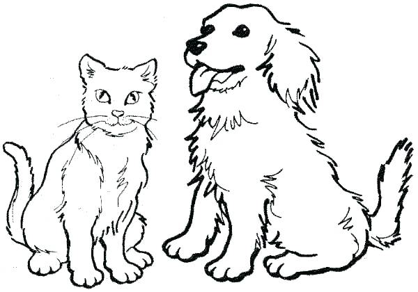 600x420 Dogs Coloring Page Dog Bone Coloring Pages Cartoon Dogs Colouring