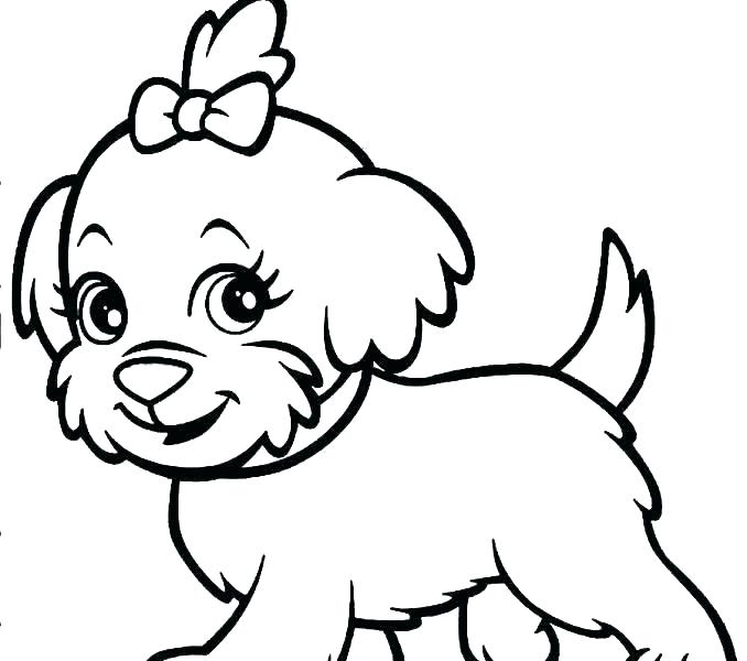 678x600 Dogs Coloring Pages Realistic Dog Coloring Pages Cute Dogs