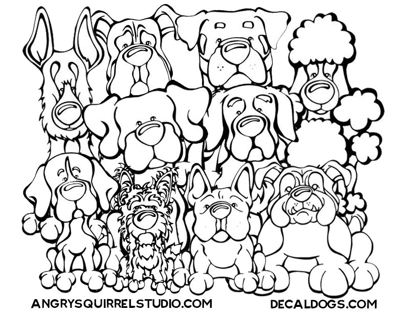 792x612 Dog Breed Coloring Pages Dog Breed Coloring Pages Dog Breed