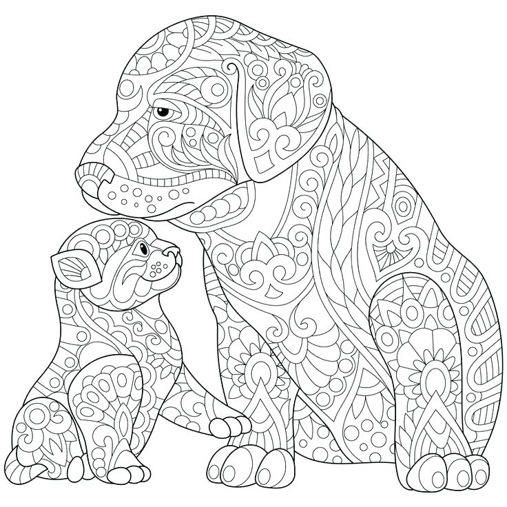 736x736 Dog Coloring Book Pages Dog Coloring Page Dog Coloring Pages Free
