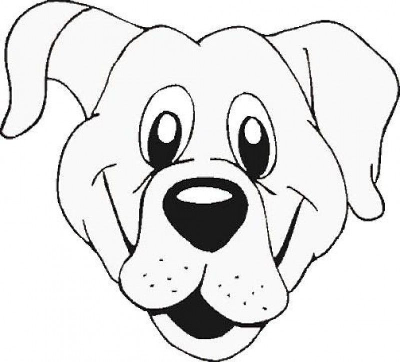 800x725 Trendy Ideas Dog Face Coloring Pages Page Cartoon