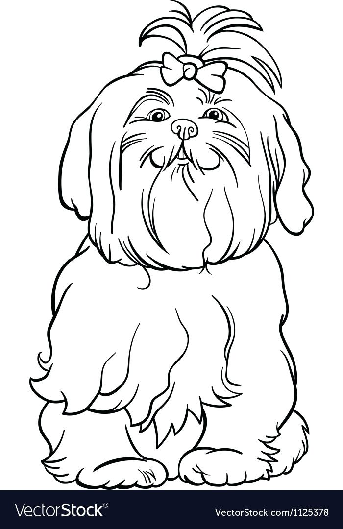 700x1080 Beagle Coloring Pages Dog Cartoon For Coloring Book Royalty Free