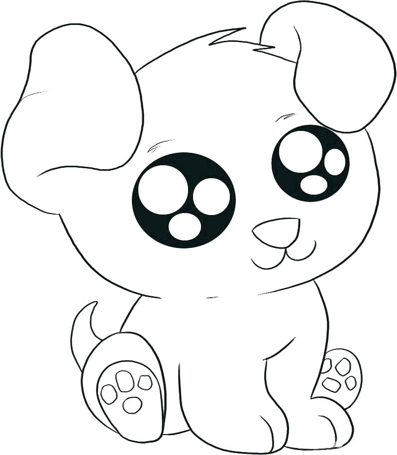 798x914 Dog Coloring Page Pages Of Dogs Color Cute
