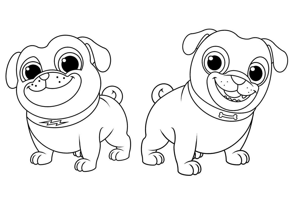 1200x800 Puppy Dog Pals Coloring Pages