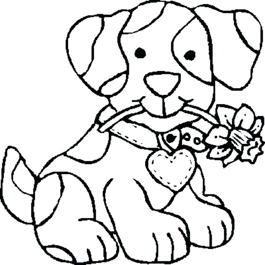 863x863 Dog Coloring Pages For Adults Dog House Coloring Page Dog