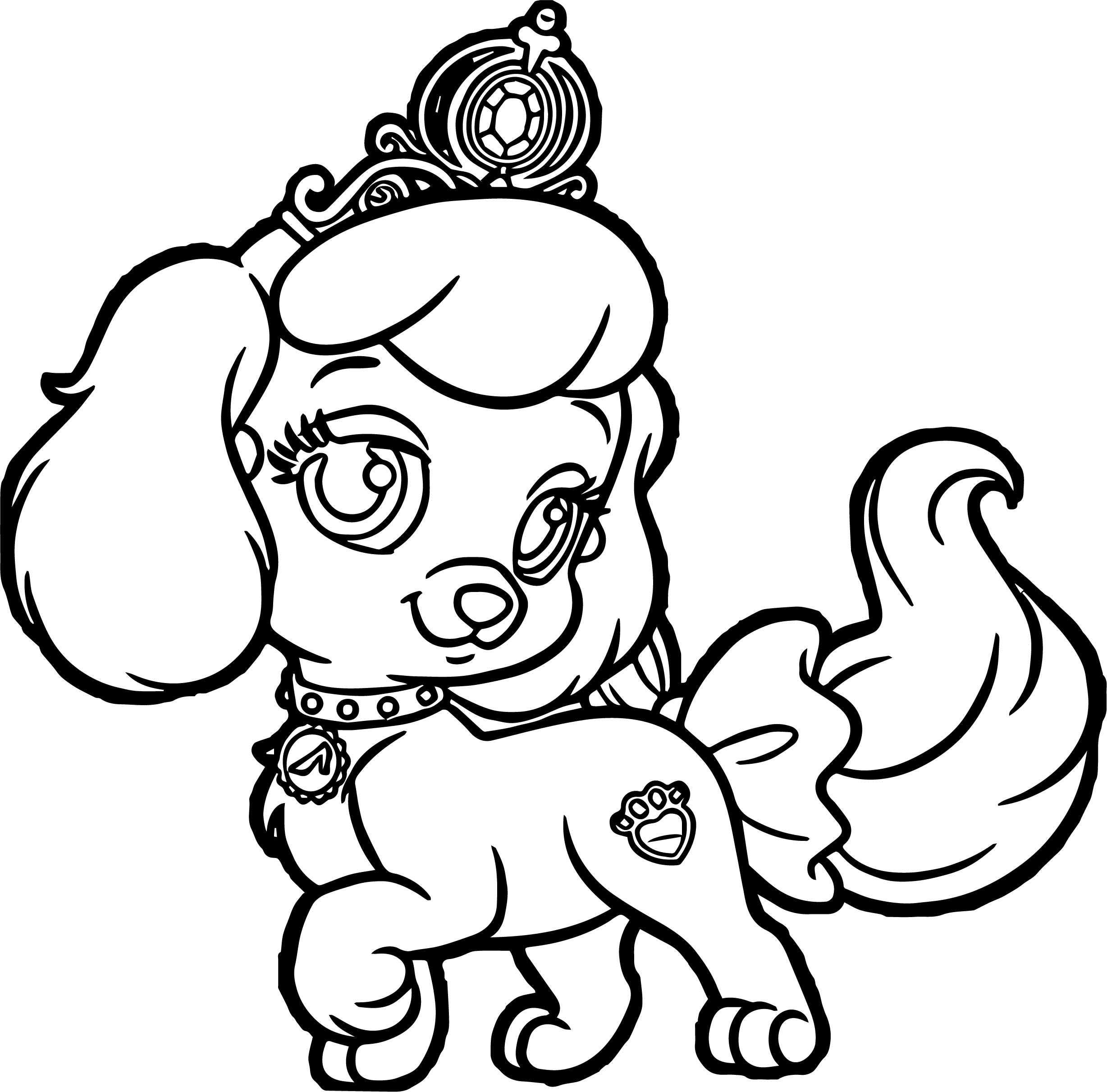 2456x2422 Dog Coloring Pages Unique Cute On For Adults