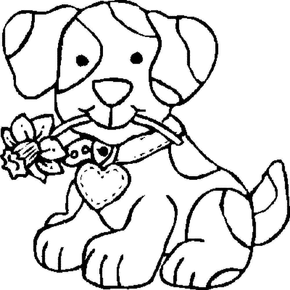 1000x1000 The Best Drawing Dog Coloring Pages For Kids Your Picture