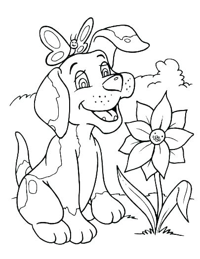 405x525 Basset Hound Coloring Pages Printable Dog Coloring Pages Printable