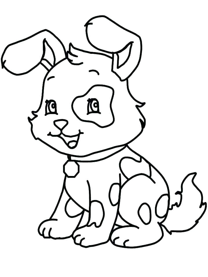 718x957 Coloring Picture Of Dog Pug Dog Coloring Pages Puppy Dog Pals